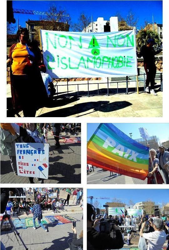 Succès du rassemblement contre l'islamophobie