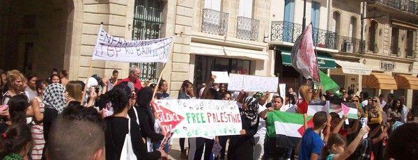 Manifestation pour la Palestine