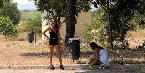 prostituees route beziers narbonne