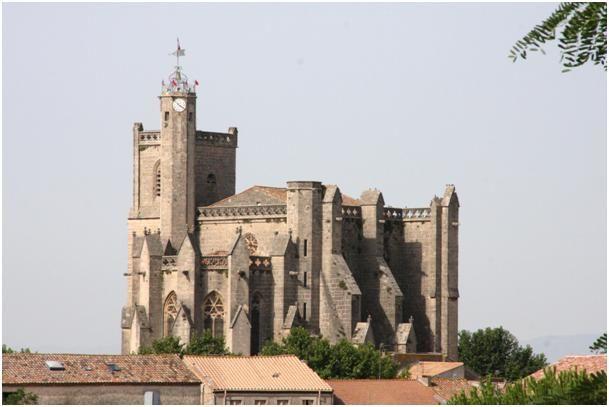 Capestang, la collégiale Saint Etienne
